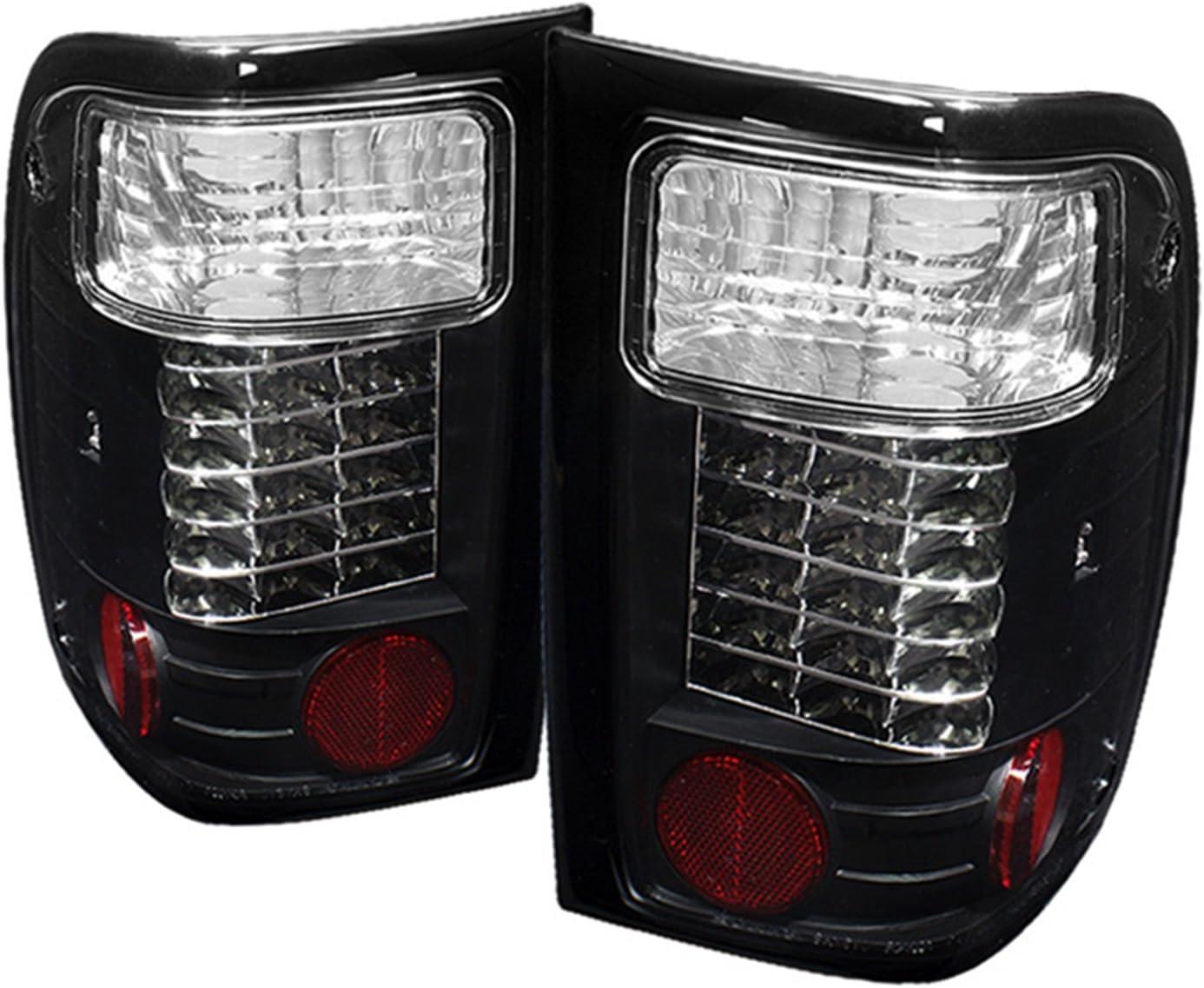 Spyder Auto Ford Ranger Black LED Tail Light