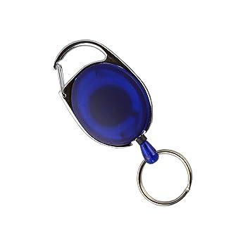 Soporte para Pase de Esquí Color Azul/Transparente con ...