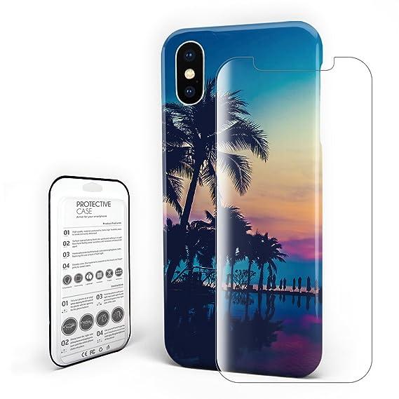Amazon.com: Vacation Hotel Sunset Swimming Pool Phone Case ...
