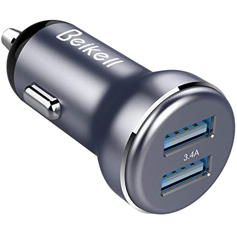 Beikell Chargeur de Voiture, Chargeur Allume-Cigare USB de Voiture Double  Ports Rapide USB Car Charge avec Technologie de Charge Adaptative pour ...
