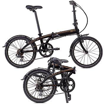50,8 cm pulgadas bicicleta plegable CITYRAD cityfolder temblores hiperenlace C7 2015 en negro y