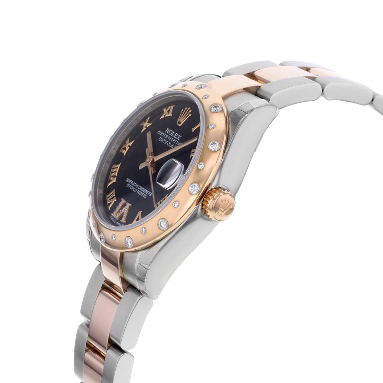 Amazon.com: Rolex Datejust 31 mm Bisel y Everose Reloj de ...