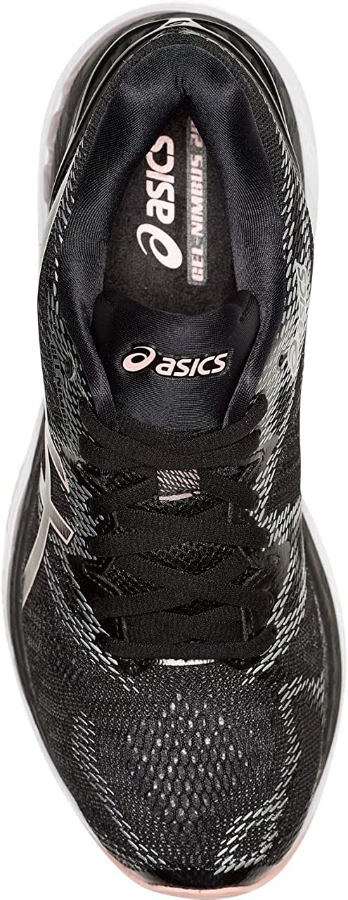ASICS Hombres Trainer 20 Low & Mid Tops Schnuersenkel Laufschuhe Black/Frosted Rose