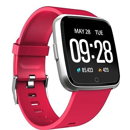 Amazon.com: Reloj inteligente - Pantalla TD Color Fitness ...