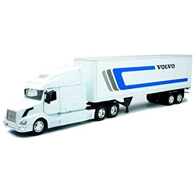New Ray 14213 R - Véhicule - Asst 2 Camions Volvo 1/32ème