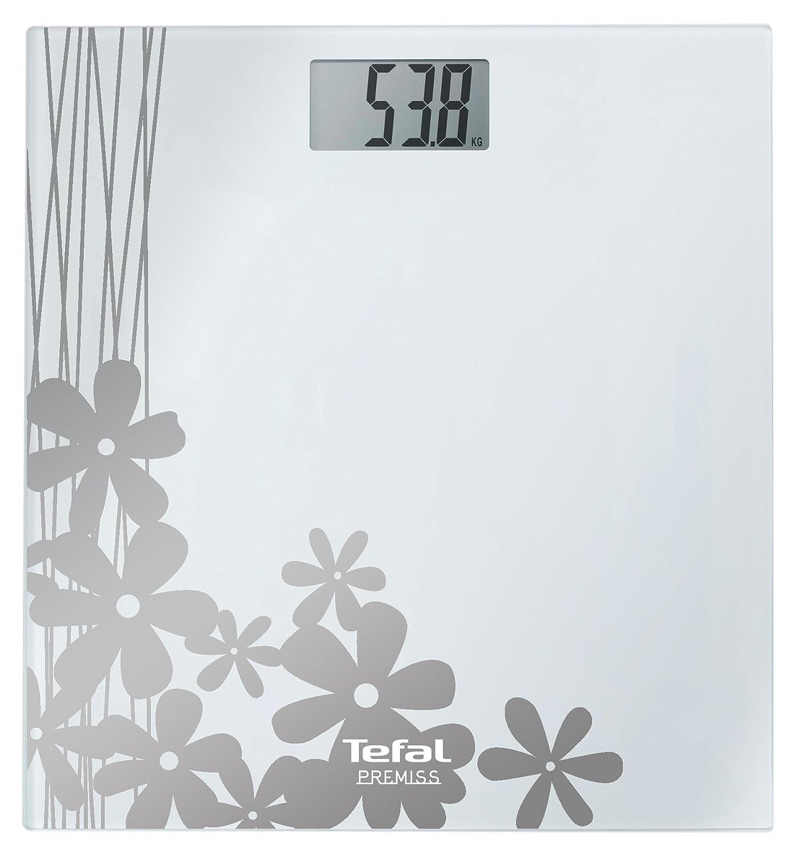 Tefal PP 1005 - Báscula de baño (LCD, Color blanco, 22 mm, CR2032, Litio, 3 V): Amazon.es: Salud y cuidado personal