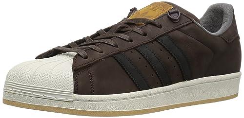 sports shoes 9efe9 43239 Adidas Superstar Foundation, Scarpe Sportive da Uomo, Superstar, Marrone   Amazon.it  Scarpe e borse