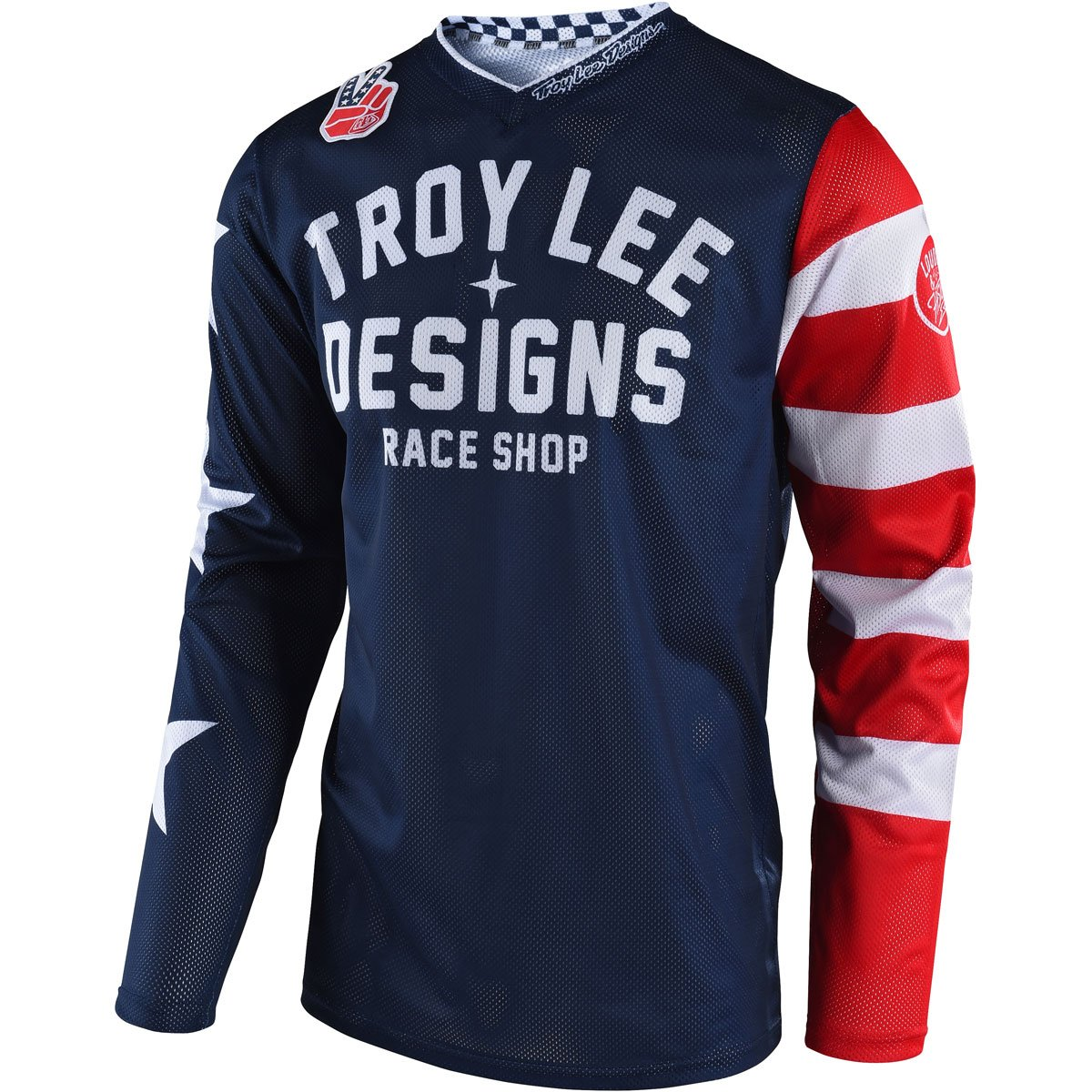 Troy Lee Designs GP Air Americana Men's Off-Road Motorcycle Jersey - Navy / Small