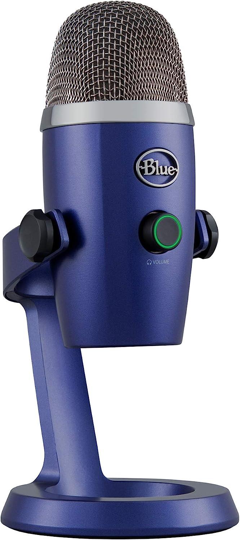 Blue Yeti Nano Premium USB Mic for Recording and Streaming