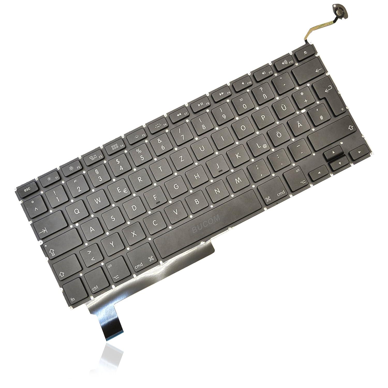 Tastatur f/ür Apple MacBook Pro 15 A1286 Keyboard GR DE Deutsch Jahr 2008 mit Backlight