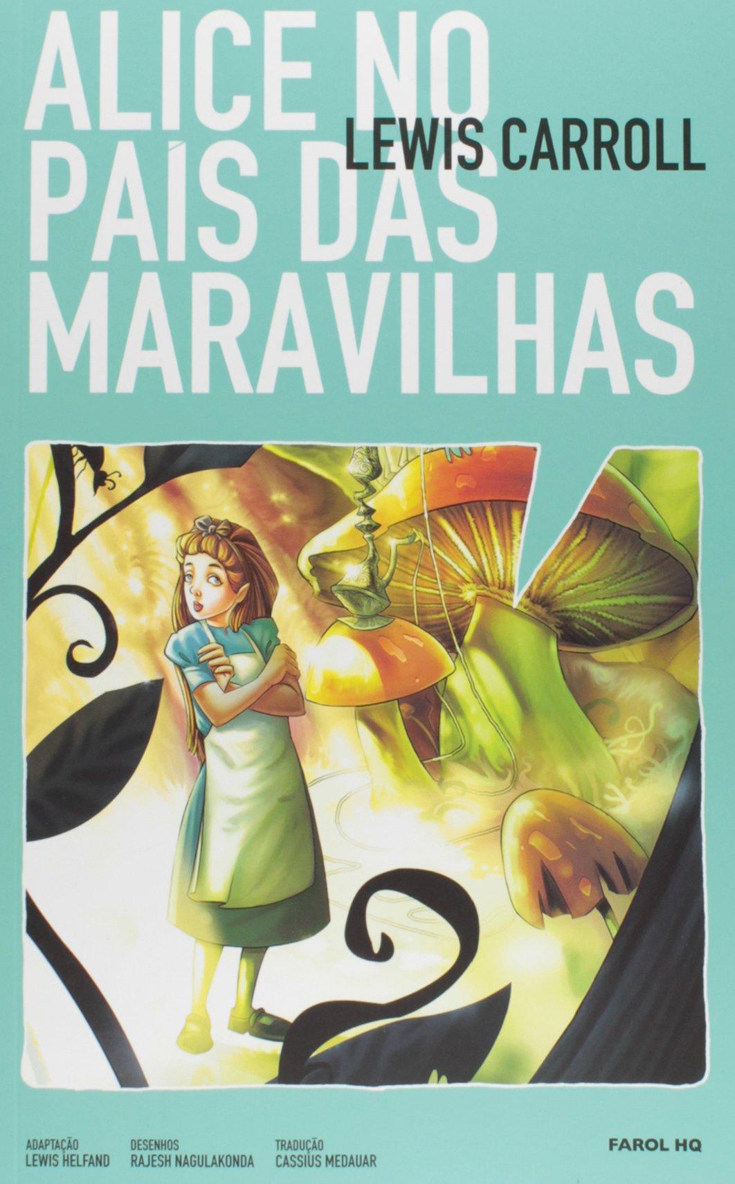 Alice No Pais Das Maravilhas Volume 1 Colecao Farol Hq Em