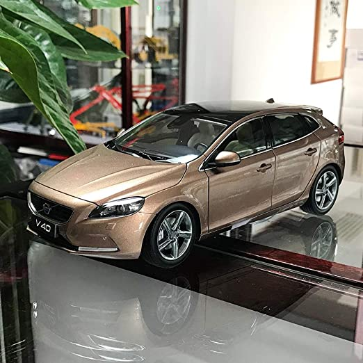 gift 1:18 new Volvo XC60 Blue color diecast model