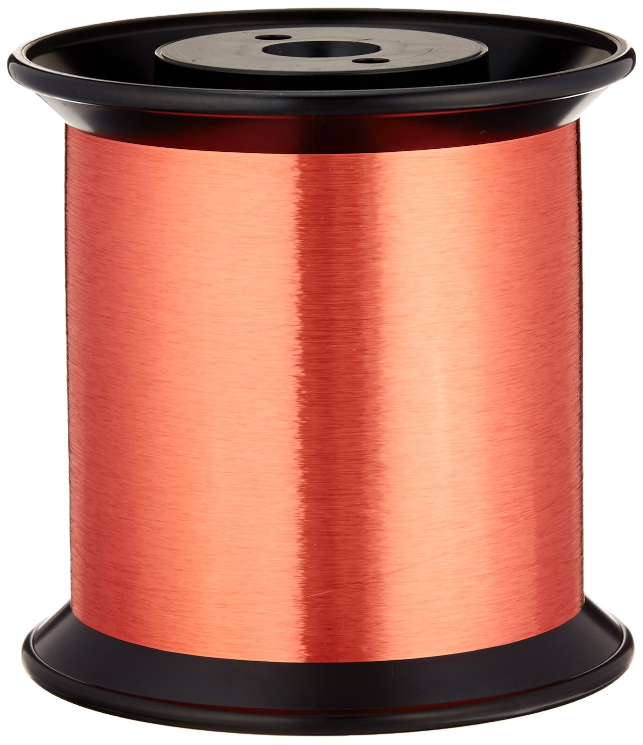 Remington Industries 43SNSR 43 AWG Magnet Wire, Enameled Copper Wire, 0.0024'' Diameter, 330460' Length, Red