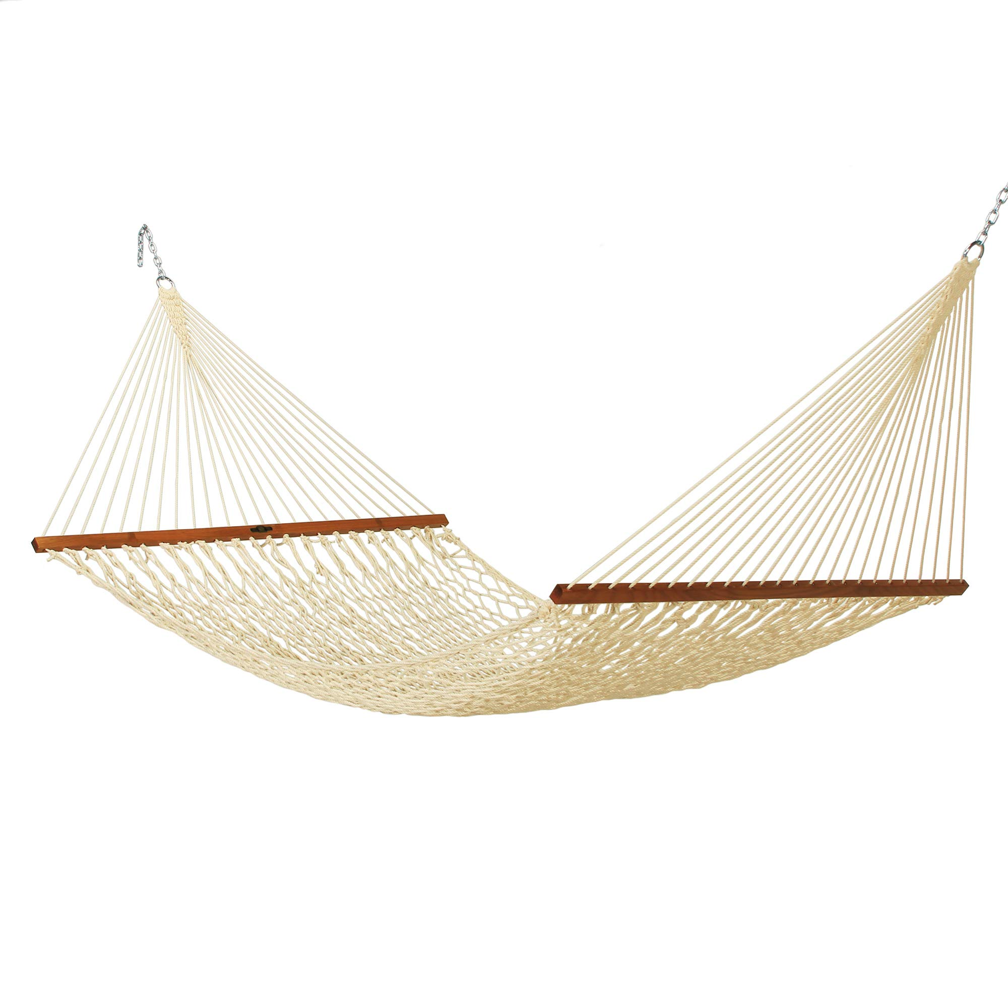 Original Pawleys Island 14DCOT Deluxe Duracord Rope Hammock, Oatmeal