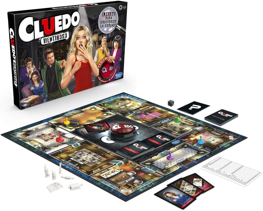 Cluedo Mentiroso (Hasbro E9779105): Amazon.es: Juguetes y juegos
