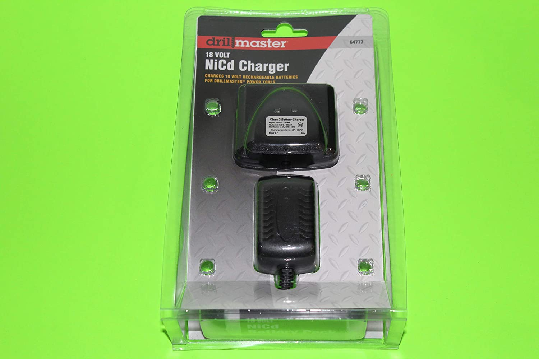 Drillmaster 18 volt NiCD Charger
