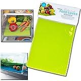 Tapis de frigo Chiffon respirant fruits légumes vert 43x 28cm