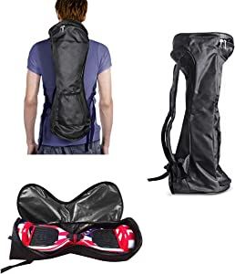 "GameXcel Self-Balancing Scooter Carrying Handbag Backpack Bag for 6.5"" 7"" and 8"" Two-Wheel Hover Board Bag Smart Balancing Scooters Storage Mesh Pocket Bags"