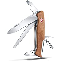 Victorinox - Victorinox RangerWood 55 - Swiss Army Pocket Knife - Walnut 130 mm - 11 Tools