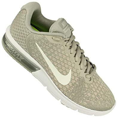 best website 4c3d9 6dab7 Nike Women s Air Max Sequent Running Shoes Pale Grey Sail-Light Bone Size 6
