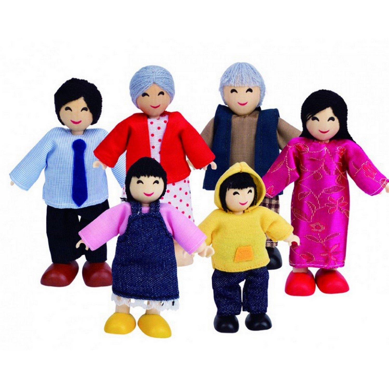 Hape Biegepuppen - Hape Puppenfamilie, asiatisch