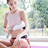 SUMIO Deep Tissue Handheld Massager - Back and Full Body Muscle Percussion Massager - Cordless Therapeutic Electric Massager - Neck Shoulders Calf Arms Feet Pain Relief - One Massager for All