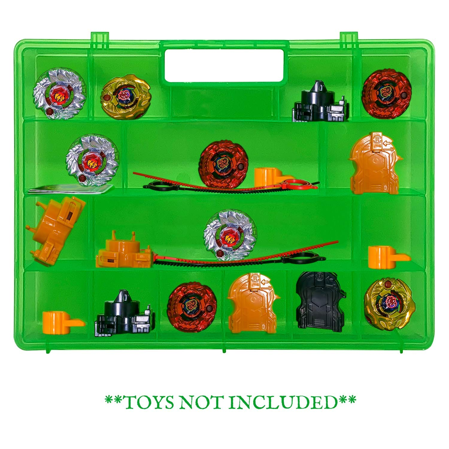 Compatible with Pokemon Figures This Box is Not Created by Pokemon Life Made Better Improved Blue Storage /& Carrying Case Toy Mini Figure Organizer