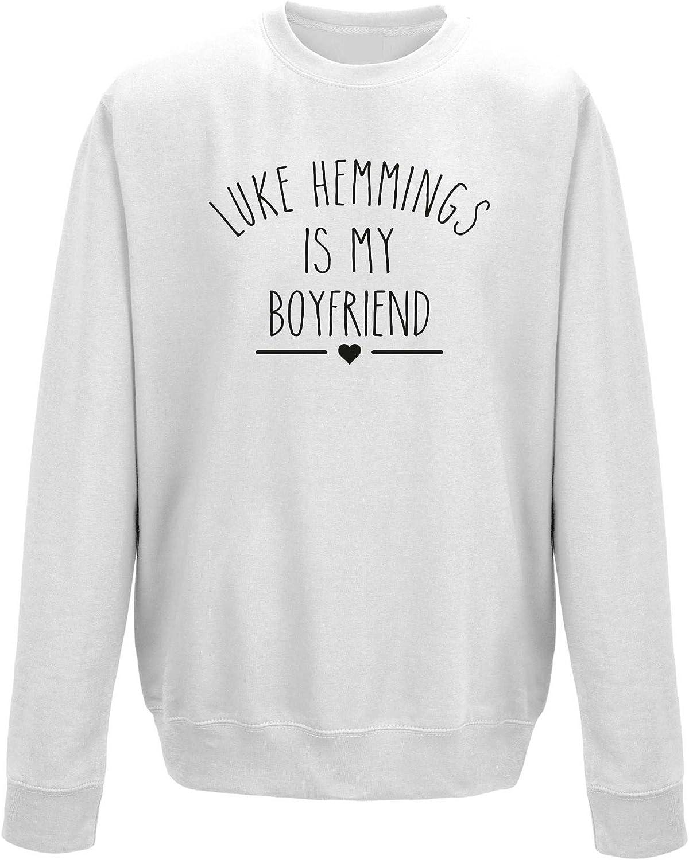 MazClothing Luke Hemmings es mi Novio Sudadera Unisex Jersey