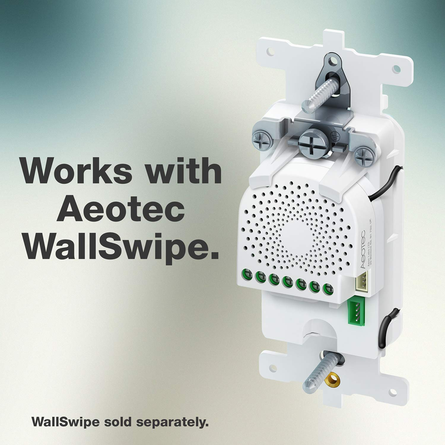 Aeotec Nano Shutter, Z-Wave Plus S2 Motor Driver On/Off/Stop