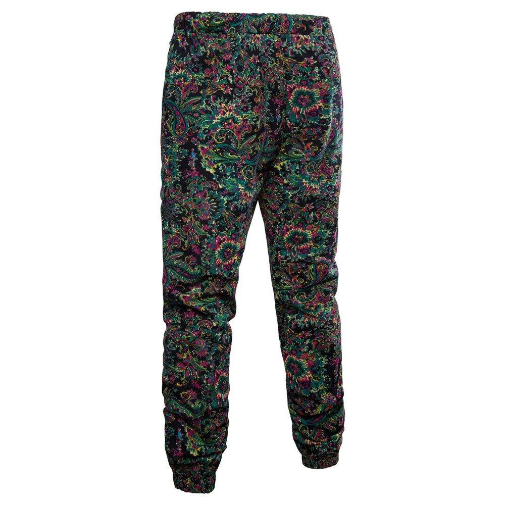 VonVonCo Hombre Pantalones Chandal Anchos Hombres Pantalones Harem ... e76250d7ab5