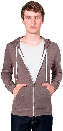 American Apparel Tri-blend Terry Long Sleeve Zip Hoodie