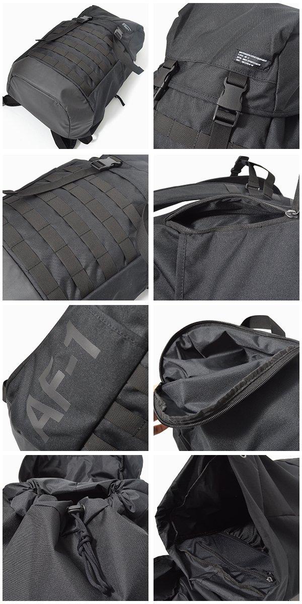 Amazon.com   Nike Sportswear AF-1 Backpack Black/White Size One Size   Backpacks