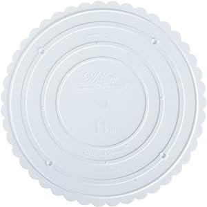 Wilton Decorator Preferred Round Separator Plate for Cakes, 11-Inch