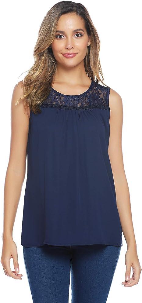Damen Sommer Bluse SommertopT-Shirt Top Blumen Schwarz Yessica