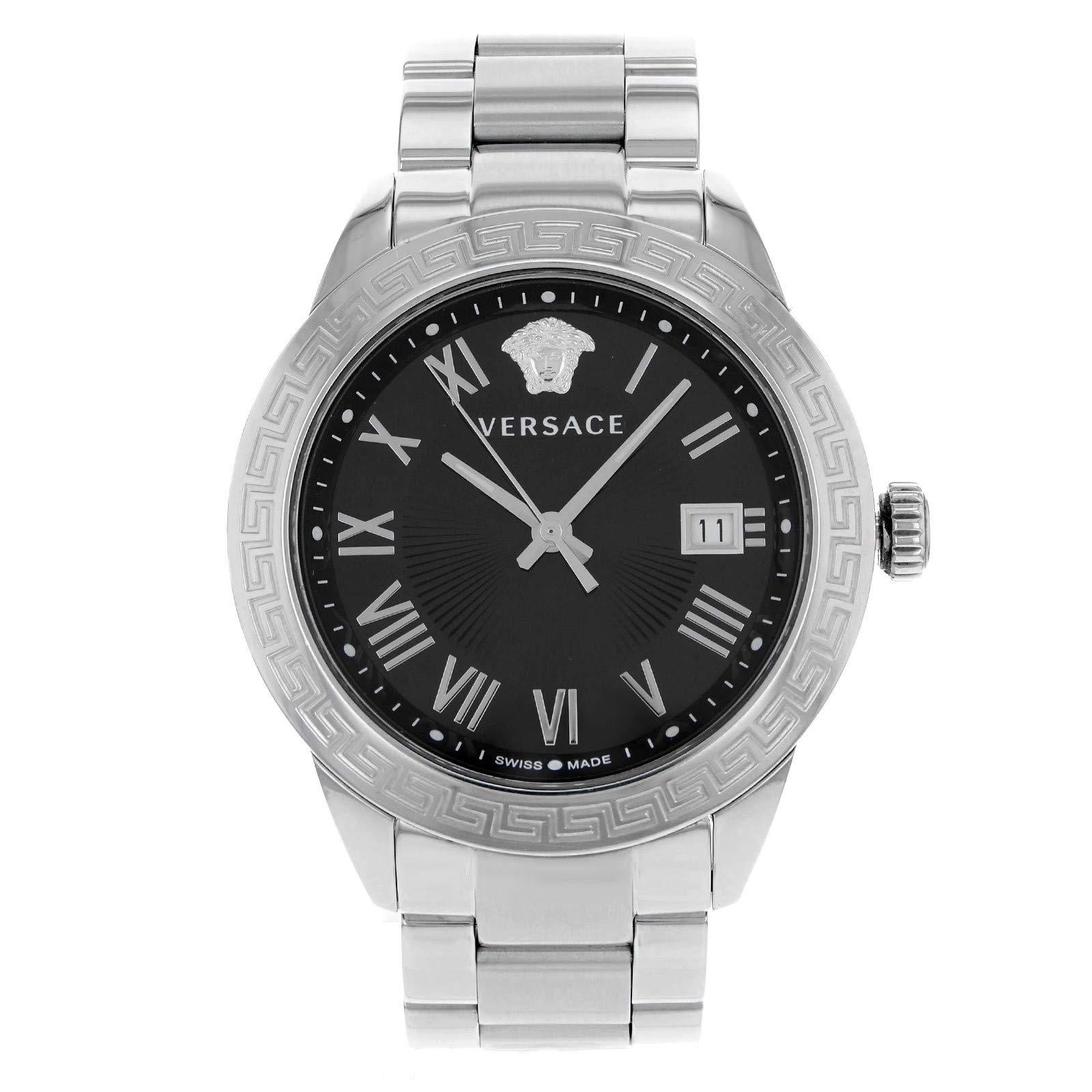 Versace Landmark Quartz Male Watch P6Q99GD008S099 (Certified Pre-Owned)
