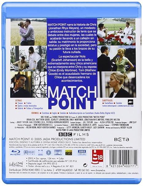 Match Point [Blu-ray]: Amazon.es: Scarlett Johansson, Matthew ...