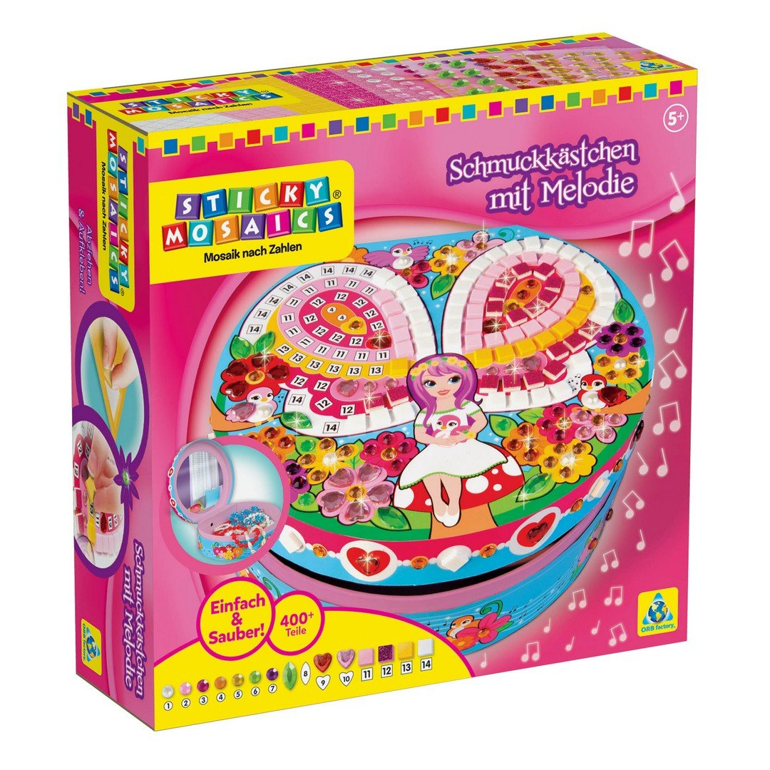 (Magical Melody Music Box) - Sticky Mosaics Magical Melody Music Box   B00F3DNWAO