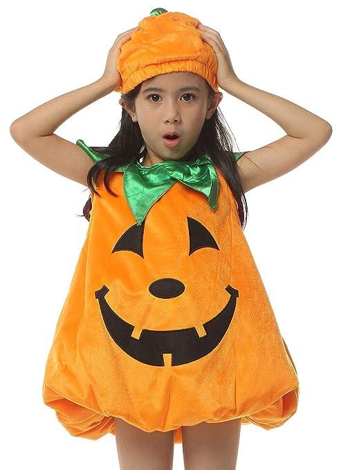 IKALI Costume da Zucca Bambino 67d2d048ab44