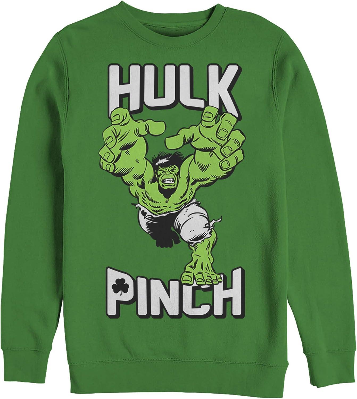 Patricks Hoodie Marvel Mens Hulk Pinch St