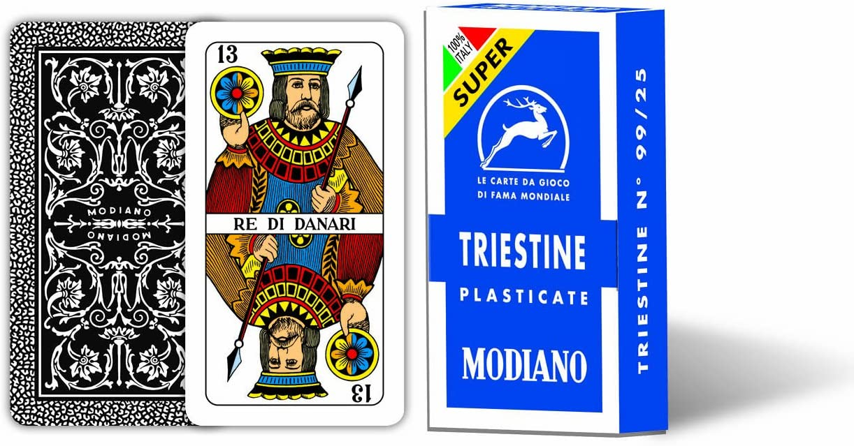 /Playing Cards Triestine 99//25/Super Modiano 300136/