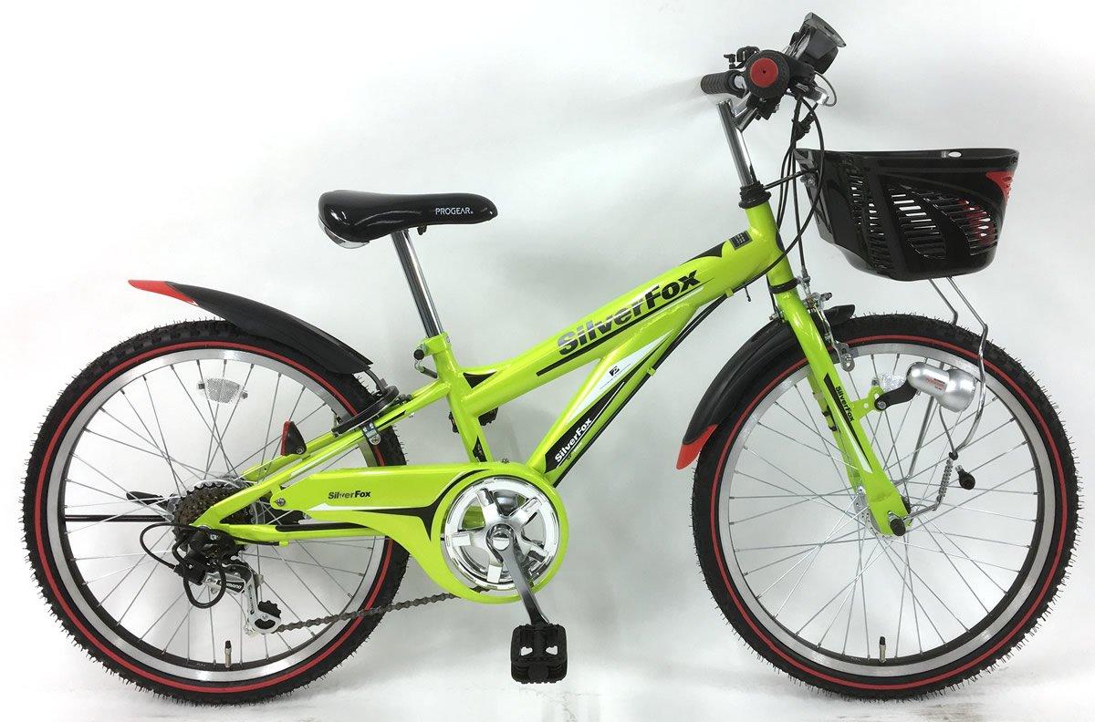 C.Dream(シードリーム) シルバーフォックス SF26-H 22インチ 子供自転車 ライム 100%組立済み発送 B07D6NBBY8