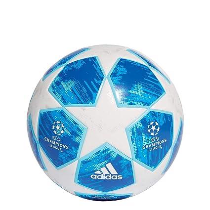 adidas Finale 18 Top Training Interior y Exterior - Pelotas de fútbol (Azul, Blanco