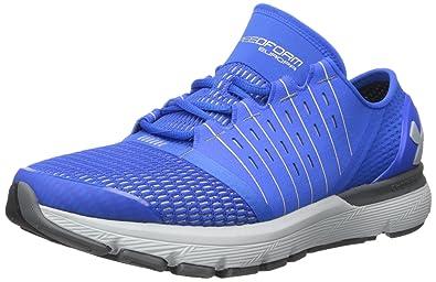 da2a907fad1c1 Under Armour Men s Speedform Europa-Wide (2E) Running Shoe Ultra Blue (907