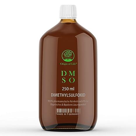 DMSO – 250 ml – 500 ml – 1000 ml.