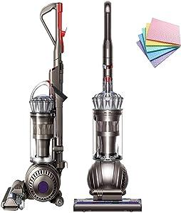 Dyson Ball Multi Floor Origin Vacuum Cleaner Animal Pro: High Performance HEPA Filter Upright Bagless Height Adjustment Telescopic Handle Self Propelled Rotating Brushes (Silver) + iCarp Sponge Cloth