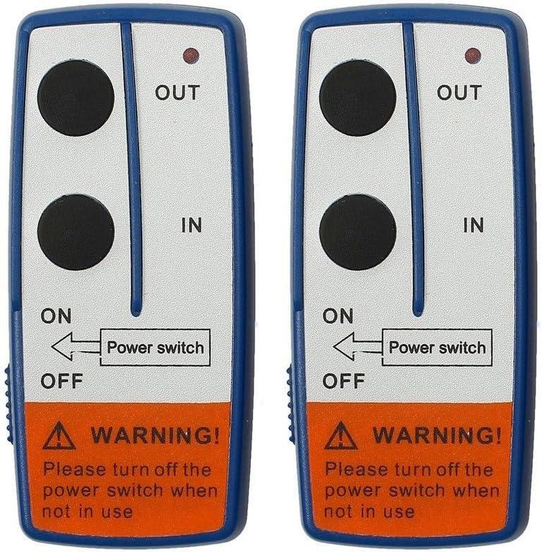 Bestlymood T/él/écommande pour treuil 12 V avec 2 interrupteurs combin/és pour ATV SUV