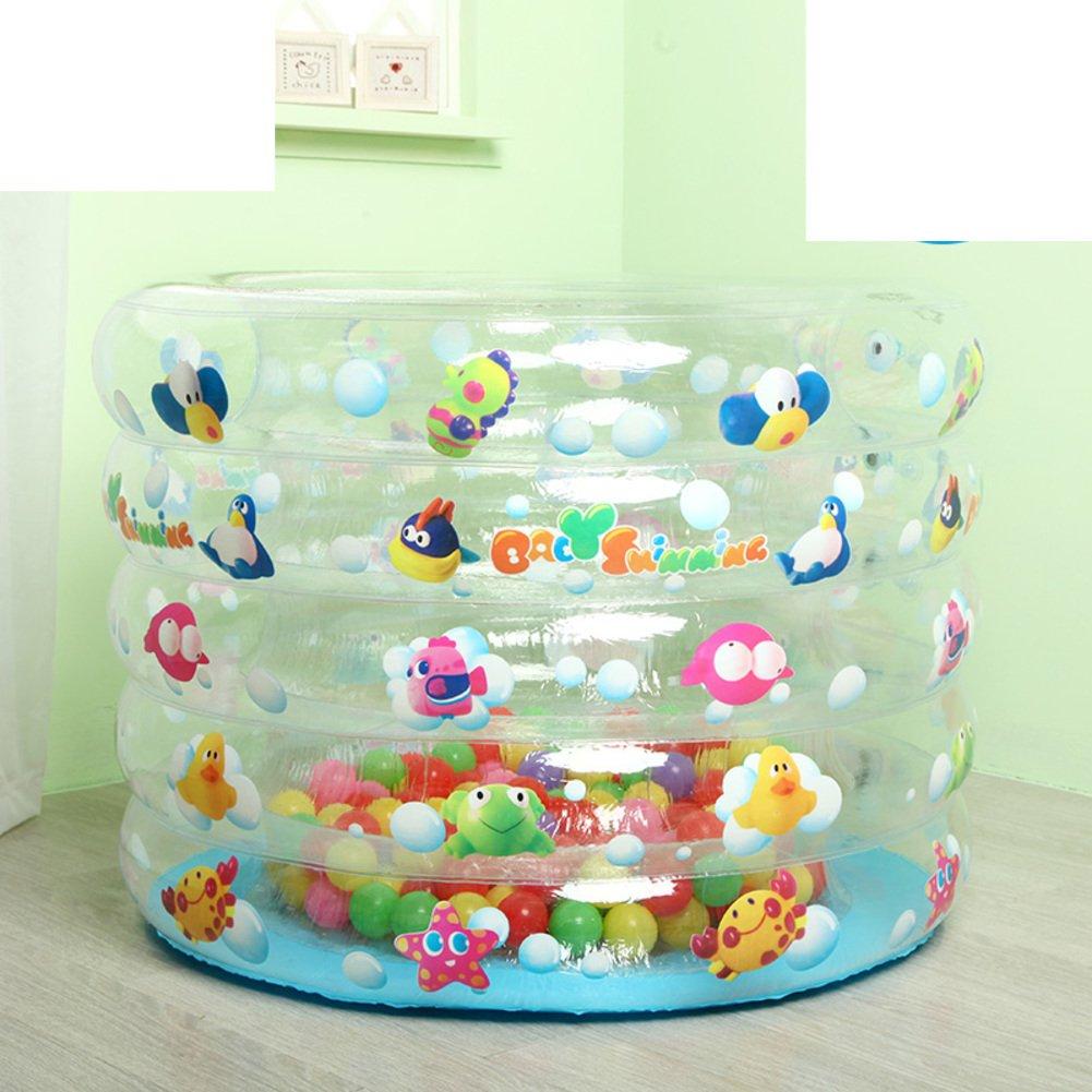 Baby Schwimmbad/Infant Kinder aufblasbare Schwimmbecken/Dicke Baby-Pool/Schwimmen Fass Isolierung-B