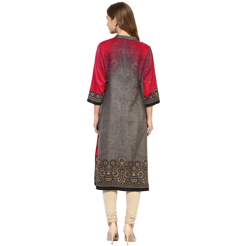 Lagi Kurtis Ethnic Women Kurta Kurti Tunic Digital Print Top Dress Casual Wear New Launch by Lagi (Image #3)