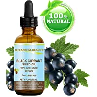 Black Currant Seed Oil. 100% Pure / Natural / Undiluted / Refined Cold Pressed Carrier...