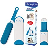 Hot 3in1 Pet Fur Hair Lint Remover Magic Brush Reusable Self Cleaning Base Brush